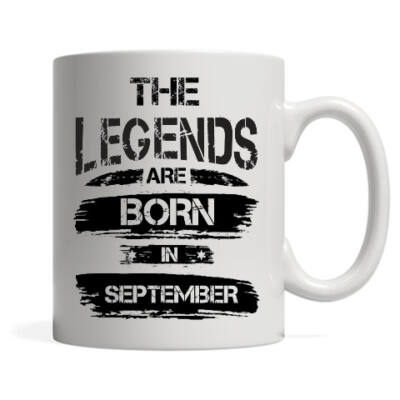 The legends are born in september - Bögre