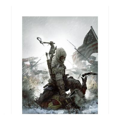 "ASSASSIN'S CREED - Collector Artprint ""Fighting For Freedom"""