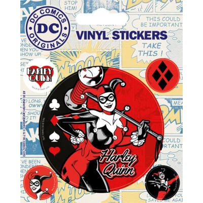 DC ORIGINALS - Harley Quinn - matrica