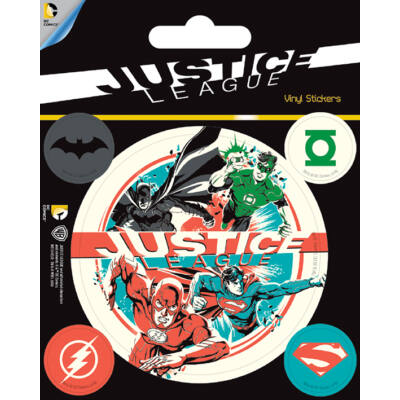 DC COMICS - JUSTICE LEAGUE - matrica