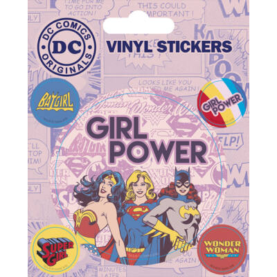 DC Comics - Girl Power - Matrica