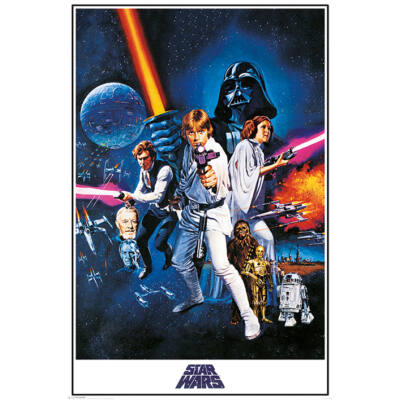 Star Wars  - A New Hope - Poszter