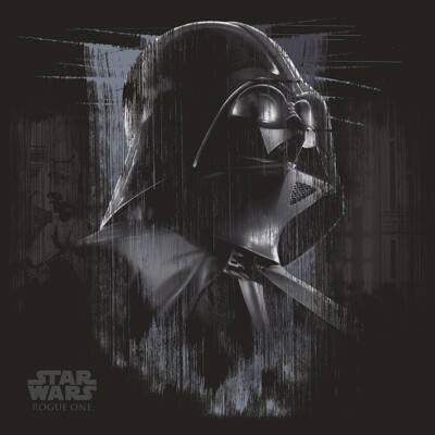Star Wars Rogue One - Darth Vader Black - Vászonkép