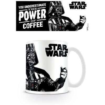 Star Wars - THE POWER OF COFFEE - Bögre