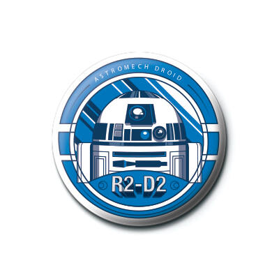 Star Wars - R2 D2 - kitűző