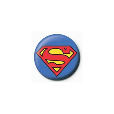 Superman logo kitűző