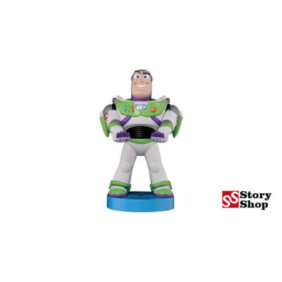 Toy Story - Buzz Lightyear - Cable Guy/Kontroller tartó figura
