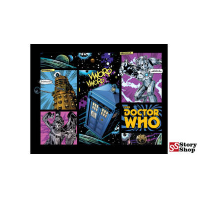 Doctor Who - Comic Layout - Mini Poszter