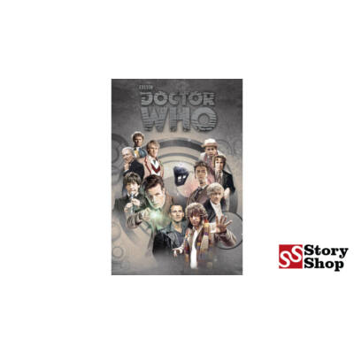 Doctor Who - Doctors Through Time - Poszter