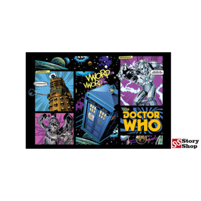 Doctor Who - Comic Layout - Poszter