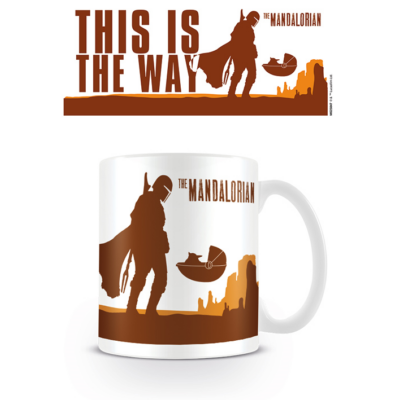 Star Wars - The Mandalorian (This is the Way) - Bögre