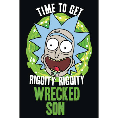 Rick and Morty - Wrecked Son - Poszter
