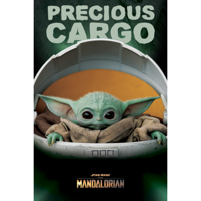 Star Wars - The Mandalorian - Baby Yoda Poszter