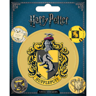Harry Potter - Hufflepuff / Hugrabug - Matrica