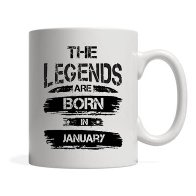 The legends are born in January - Bögre