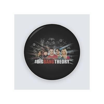 The big bang theory - Kitűző