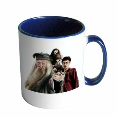 Harry Potter - Dumbledore-Harry-Hagrid bögre