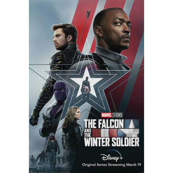 Marvel: Falcon and the Winter Soldier - Poszter