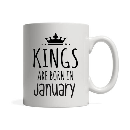 Kings are born in January - Bögre