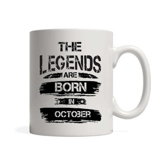 The legends are born in October - Bögre