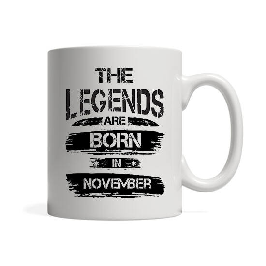 The legends are born in November - Bögre