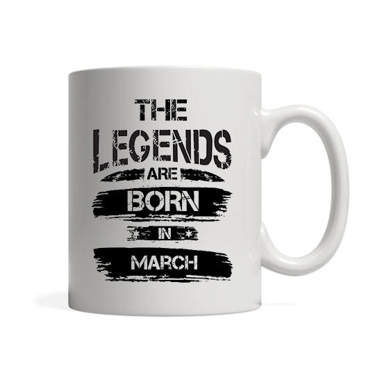The legends are born in March - Bögre