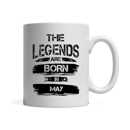 The legends are born in May - Bögre