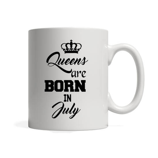 Queens are born in July - Bögre